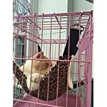 UsefulThingy Cat Hammock/Ferret, Rat, Rabbit, Small Dogs or Other Pet – Easy to Attach to a Cage – 3 Designs