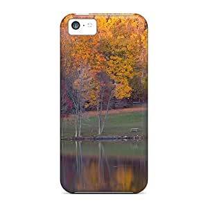 Iphone 5c Fbj27824xekB Small House In Autumn Forest Cases Covers. Fits Iphone 5c