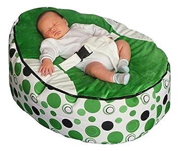 Amazon.com: Mama Baba bebé puf con relleno: Home & Kitchen