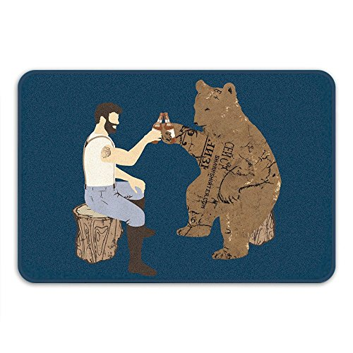 grizzly bear rug - 7