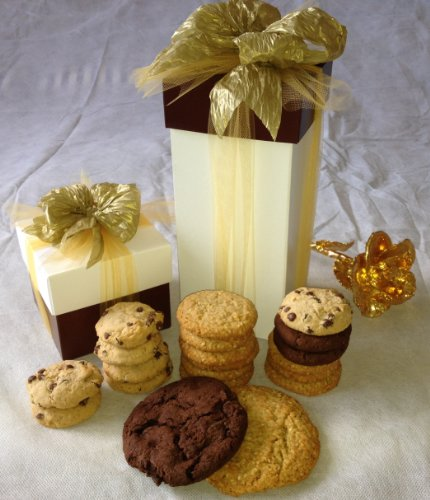 (Tall Tower of Love - Gourmet Cookie Gift Set - Vegan, Gluten & Dairy Free!)
