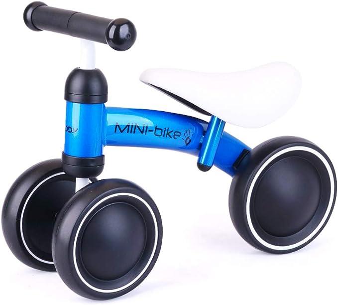 Kids Boys Girls Balance Bike 12/'/' Bicycle Walking Running Training Toddlers Gift