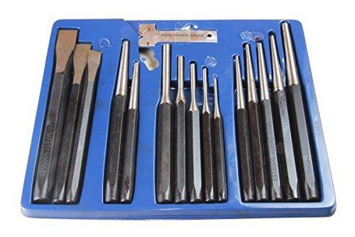 US PRO 16/piezas Punch y cinceles cortafr/ío centro punz/ón punz/ón perforadora 2071