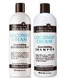 Renpure Coconut Cream Nourishing Shampoo & Conditioner Set, 16 Fluid Ounce Ea