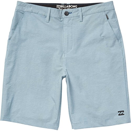 Billabong Surf Shorts (Billabong Men's Hybrid Shorts, Light Steel Twill, 32)
