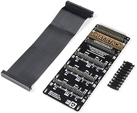 SparkFun Pimoroni pHAT Stack Fully Assembled Kit for Raspberry Pi PID 16303