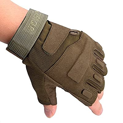 Military Half-finger Fingerless Tactical Ultra Grip Sun-resistant Hunting Riding Cycling Climbing Gloves