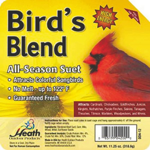 Bird Blend Suet Cake Heath Manufacturing Co DD4-12