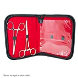 Dermal Piercing Tool Kit - 2 Dermal Forceps with a Pouch Included