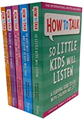 How To Talk 5 Book Collection Set Titles in This Set How To Talk So That Kids Will Listen, How To Talk To Kids So Kids Will Listen and Listen So Kids Will Talk, How To Talk So Kids Can Learn At Home And In School, How To Talk: Siblings Withou...