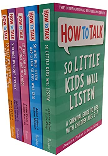How To Talk Collection 5 Books Set (How to talk so Kids Will