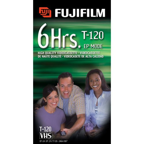 Fuji HQ T-160 Recordable VHS Cassette Tapes (3 pack) (Discontinued by Manufacturer) by Fujifilm