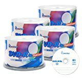 Smartbuy 8.5gb/240min 8x DVD+R DL Dual Layer Double Layer Logo Blank Media Disc Spindle (200-Disc)