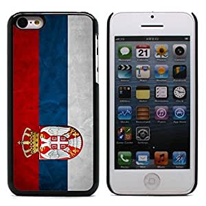 Graphic4You Vintage Serbian Flag of Serbia Design Hard Case Cover for Apple iphone 6 4.7