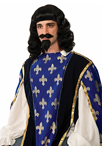 Musketeer Wig, Beard & (Musketeer Costume Men)