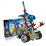 robotic knight - Motorial Alien Robot?Elf Knights - Robotic Building Set Block Toy ,Battery Motor Operated,3D Puzzle Design Alien Primate Robot Figure for kids and adults - NanoBlocks Micro Diamond DIY Educational To