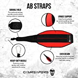 Gymreapers Hanging Ab Straps for Core Strength and