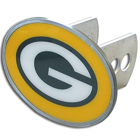 NFL Green Bay Packers Oval Hitch Cover, Class II & III - Trailer Hitch Cover