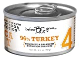 Merrick Before Grain #4 Turkey Pate Style Cat Food, 3.2 Ounce Can (24 Count Case), My Pet Supplies