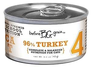 Merrick Before Grain #4 Turkey Paté Style Cat Food, 3.2 Ounce Can (24 Count Case)
