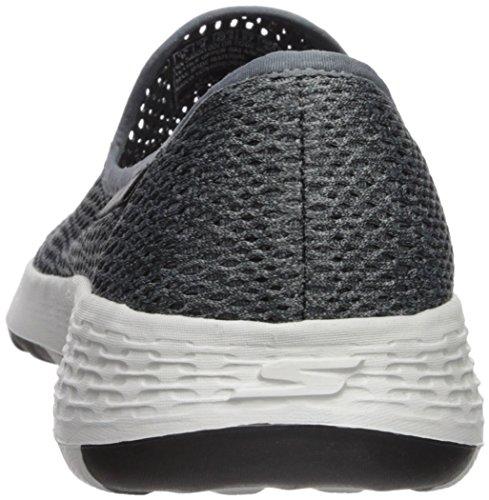 Skechers Hombres Go Walk Cool-54650 Sneaker Charcoal