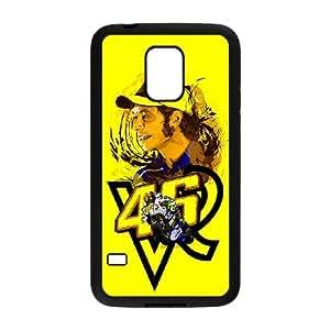Valentino Rossi caso O8D81K6CN funda Samsung Galaxy Mini funda S5 410MA0 negro