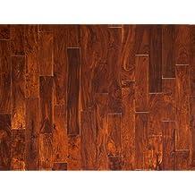 "ENGINEERED HARDWOOD DISTRESSED ACACIA BLACK WALNUT LWEHBW6 9/16 WIDTH: 4 ¾"" BOX"