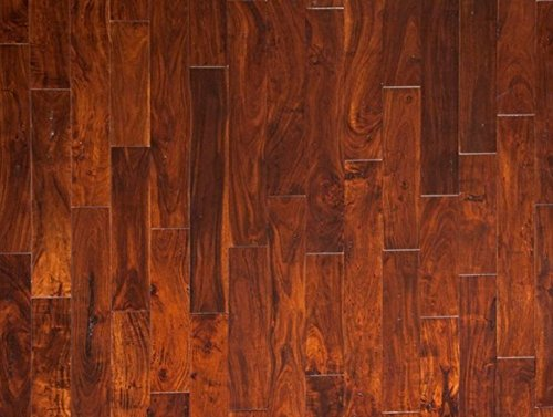 Hardwood Black Walnut Flooring (ENGINEERED HARDWOOD DISTRESSED ACACIA BLACK WALNUT LWEHBW6 9/16 WIDTH: 4 ¾