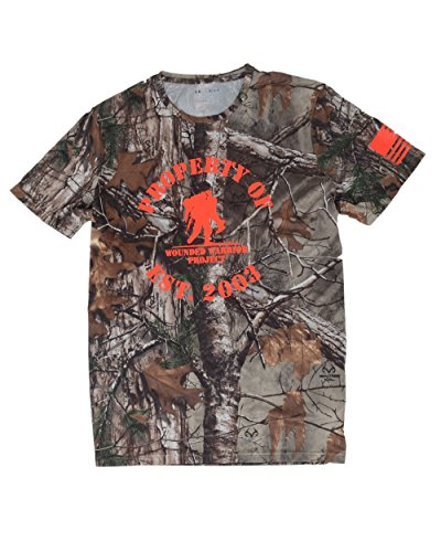 Under Armour Men's Wounded Worrior Project (L, REALTREE CAMO)