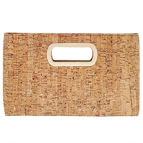 Cork Top Handle Clutch