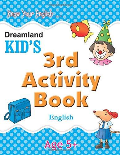 3rd Activity Book - English (Kid's Activity Books)