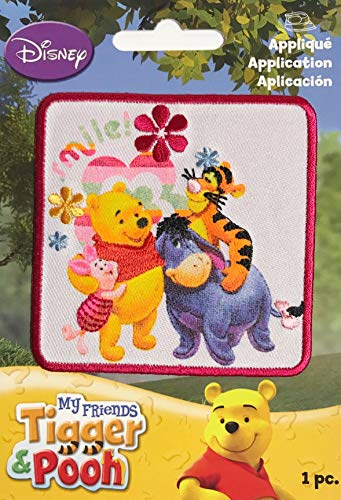 - Winnie The Pooh Tigger & Friends Iron On Applique Patch (3