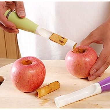 Plastic Fruit Core Splitter Pitter Tools Apple Coring Device Kitchen Gadgets