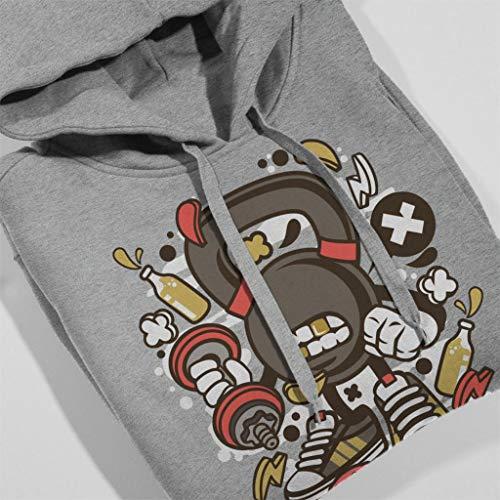 Sweatshirt Bells Hooded Women's Kette Heather Coto7 Grey AqxSwIZRf
