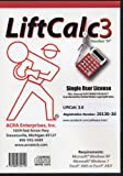LiftCalc 3. 0 : Rigging Calculator, Jerry Klinke, 1888724110