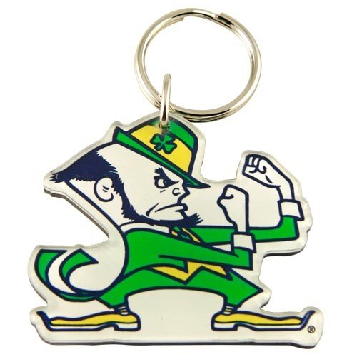 WinCraft NCAA 20244041 Notre Dame Premium Acrylic Key Ring ()