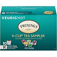 Twinings Tea Sampler, Keurig K-Cups, 10 Count