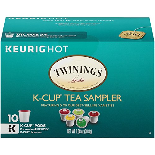 Twinings Tea Variety Sampler Keurig K-cups, 60 Count