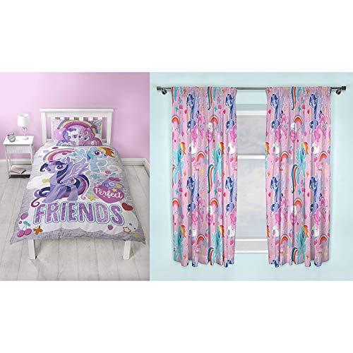 My Little Pony Adventure Single Girls PINK Bedroom Duvet Quilt Cover Set Gift