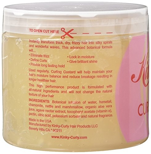 Kinky Curly Original Curling Custard Natural Styling Gel