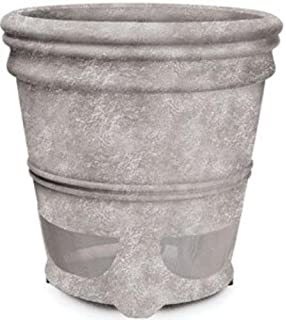 Outdoor Planter Speakers Amazon ion planter speaker wireless outdoor speaker with niles ps6si pro weathered concrete 6 inch 2 way high performance planter loudspeaker fg01680 workwithnaturefo