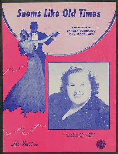 Carmen Sheet Music (Seems Like Old Times.)