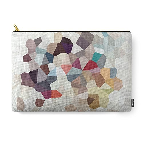 Society6 Africa Geometric Abstract Carry-All Pouch Large (12.5'' x 8.5'') by Society6