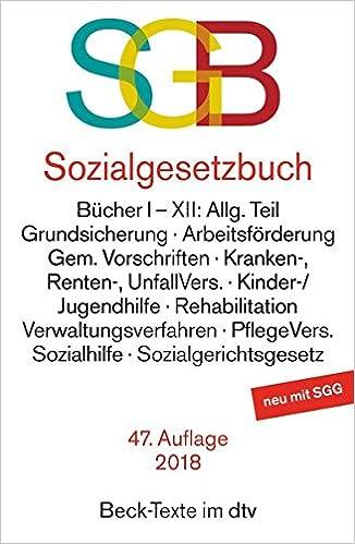 Sozialgesetzbuch Dtv Beck Texte Amazonde 978 3 423 05024 1 41