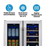 NewAir NWB080SS00 Wine Refrigerator, Stainless