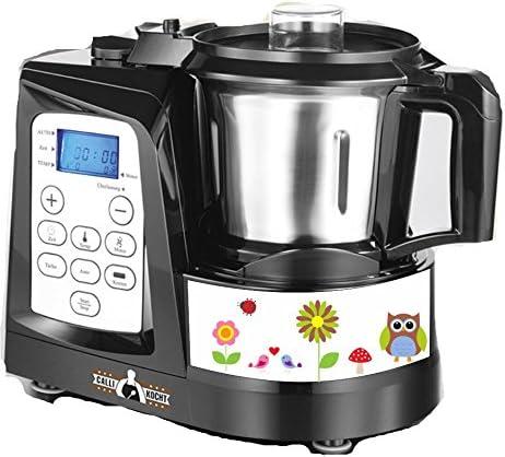 Robot de cocina pegatinas Búhos Otoño apto para Calli: Amazon.es
