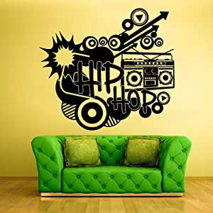 Wall decal vinyl sticker decor art bedroom for Hip home decor
