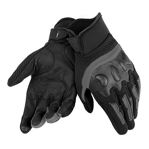 Air Dainese (Dainese Air Frame Unisex Gloves (MEDIUM) (BLACK/BLACK))