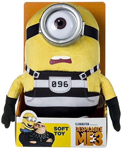 "Minion Carl Jail Plush - Despicable Me 3 - 25cm 10"""