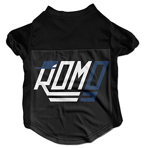 Tony Costume Romo Funny (Tony Romo Black 100% Fleece Boutique Vest Cute Jackets)